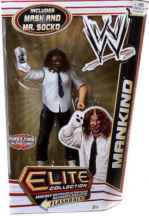 WWE Wrestling Elite Series 17 Mankind Action Figure