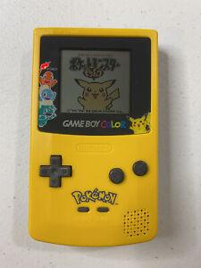 Nintendo Game Boy Color Pok�mon Edition Handheld System - Yellow