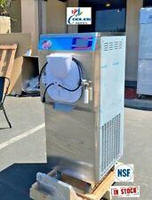 New Gelato Machines Batch Freezermaker Ice Cream Dipping Cabinet Freezer Nsf 2p