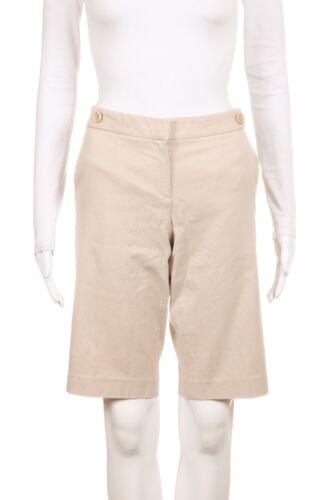 taglia Pantaloncini linea beige Theory cotone Bermuda kaki lunga misto 10 FZwTqHEwx