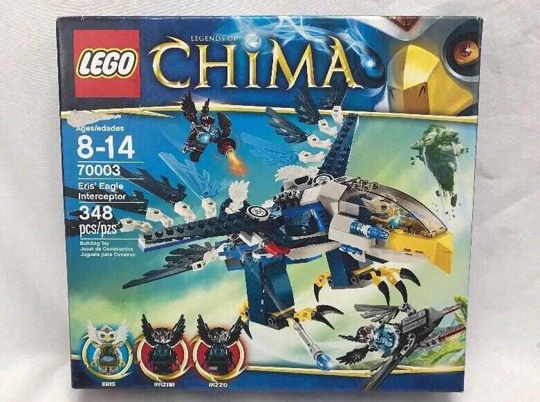 2013 LEGO LEGENDS OF CHIMA 70003 ERIS/' EAGLE INTERCEPTOR *ON HAND RETIRED!!