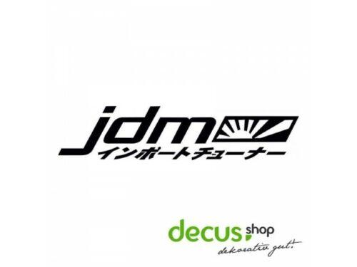 JDM Sun fuente japonés l 1358 13x3 cm //// sticker JDM pegatinas parabrisas
