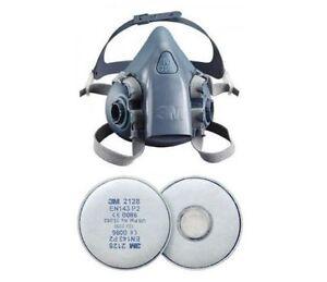 3m 7500 respirator mask