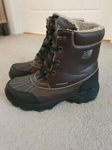 Karrimor-Snow-Casual-3-Brown-Weathertite-Boots-Size-UK-7-EURO-41