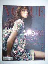 Magazine VOGUE PARIS mode French #883 dec. 2007 janv 2008 Charlotte Gainsbourg