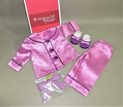 AMERICAN GIRL DOLL REBECCA SATIN PAJAMAS NIB KIT MCKENNA GRACE MIA