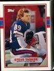1989 Topps Steve Tasker #65T Football Card