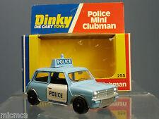 DINKY TOYS MODEL  No.255  'POLICE'  MINI CLUBMAN  VN MIB