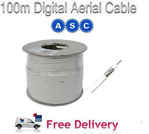 100m-RG6-Satellite-Aerial-Cable-Digital-Coax-Sky-White