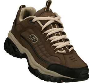 uomo Shoes da Sneaker Ew Brown Skechers in Wide casual Width pelle morbida 50172 uomo sportivo da TqI6RTpx