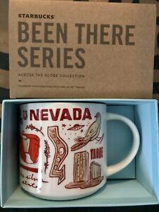 Starbucks Coffee Been There Series 14oz Mug NEVADA Cup w/SKU