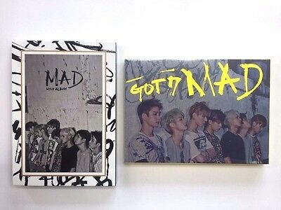 GOT7 - MAD [4th mini album][CD+booklet52p+photocard] k-pop