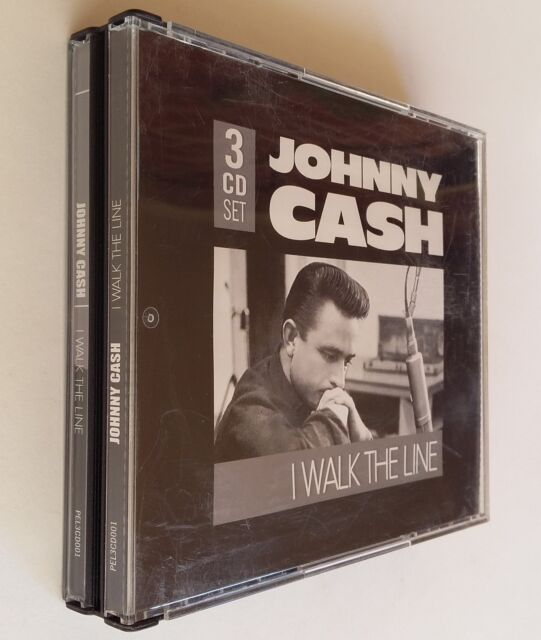 I Walk The Line by Johnny Cash ~ 45 Tracks (CD, Mar-2006, 3 Discs) NEW