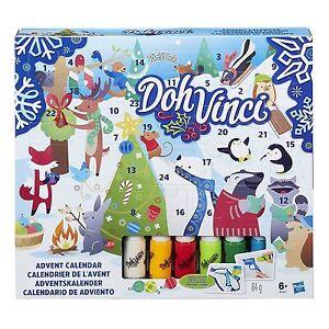Creare Calendario Avvento.Dettagli Su Doh Vinci Calendario Avvento Creare Natale Play Doh