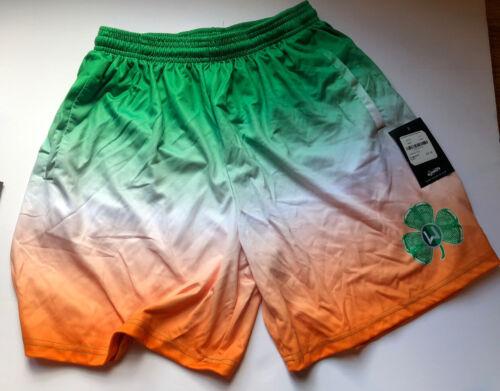 Lax World Irish Flag Lacrosse Shorts Youth XL NWT