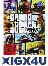 GTA V GTA 5 - Grand Theft Auto V 5 Key PC Spiel Download Code [DE][EU][PC][NEU]
