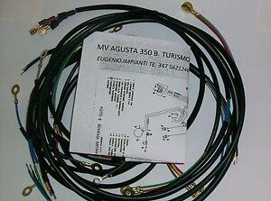 Schema Elettrico Wiring Diagram : Impianto elettrico electrical wiring moto mv agusta b con