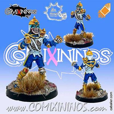 Utile Fantasy Football - Khemri Skeleton Poncho For Blood Bowl - Meiko Miniatures Prestazioni Superiori