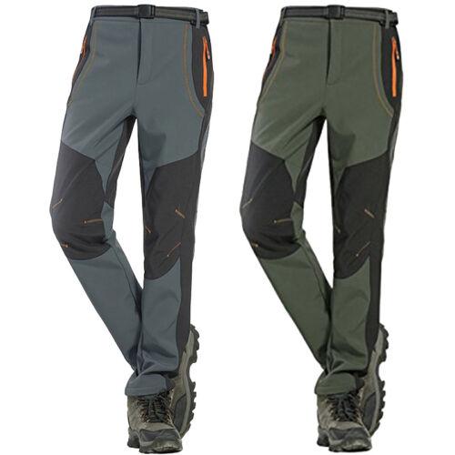 Pantalon de neige de randonnée chaude d/'hiver extérieur Hommes/'s Fleece