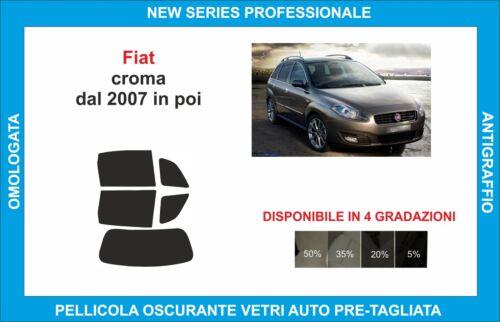 pellicole oscuranti vetri fiat croma dal 2007 in poi kit posteriore