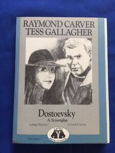 DOSTOEVSKY-A-SCREENPLAY-KING-DOG-SIGNED-LTD-ED-BY-RAYMOND-CARVER-amp-LE-GUIN