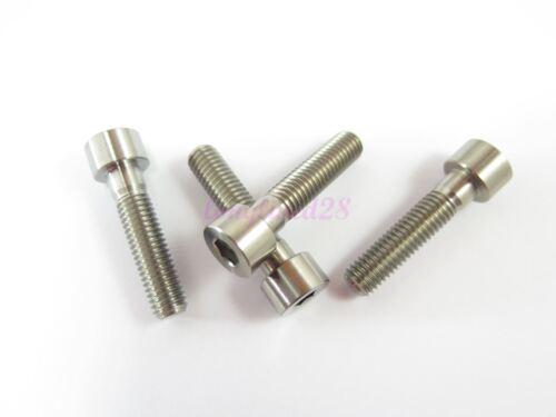 M8 x 35mm Titanium Ti Bolt Socket Hex Cap Head Allen Key Screw GR5 2//6//10pcs