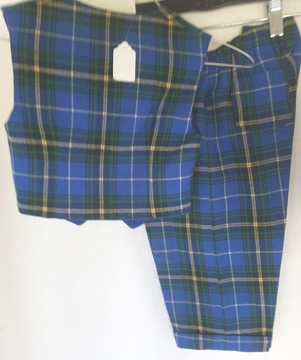 Vintage Boy's Vest and Long Pants Nova Scotia Tar… - image 2