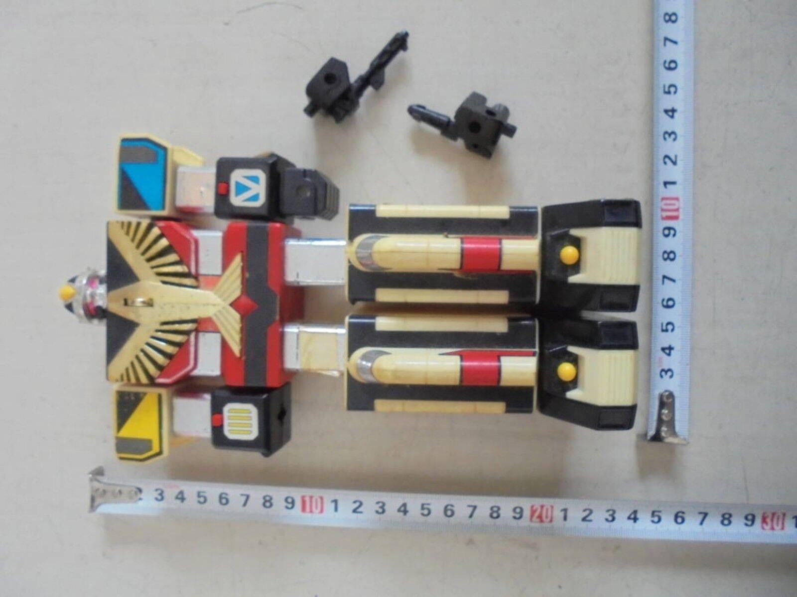 DX Jet Jet Jet Icarus Bandai Power Rangers Jetman Megazord sky coalesced Chogokin USED da3849