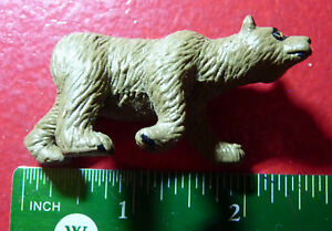 Nice-Plastic-Toy-Brown-Grizzly-Bear-Figurine-Ours-Brun