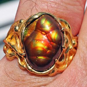 Arizona Fire Agate Ring