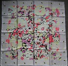 foulard carré en soie CODELLO 86 cm x 86 cm Neuf