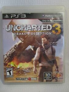 PS3 Uncharted 3 Drake's Deception - Playstation 3 No Manual