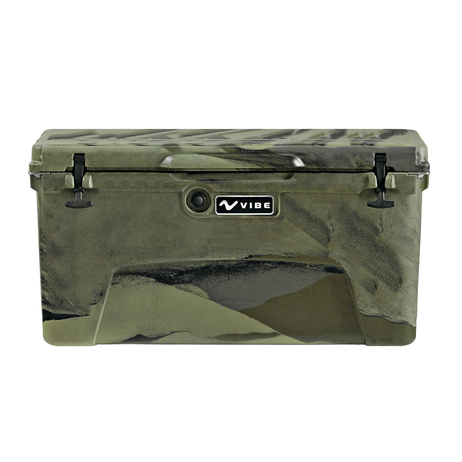 Vibe Heavy Duty 75 Quart redo Molded Cooler Ice Chest with Bottle Openers - Camo