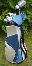 LADIES TEC PLUS FULL GOLF CLUB SET GRAPHITE WOODS&HYBRID+IRONS+CART BAG+PUTTER