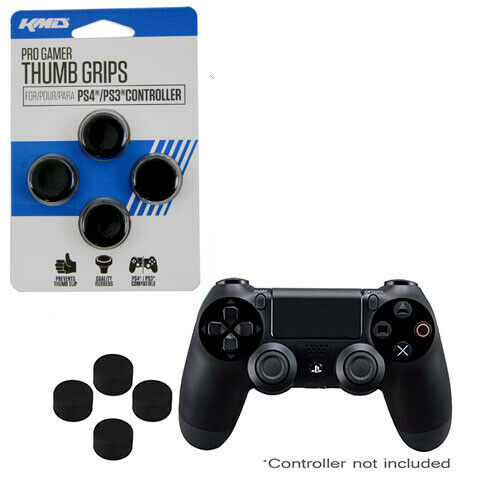 PlayStation 4 ProGamer Analog Controller Thumb Grips (2 Sets) KMD New (PS4 PS3)