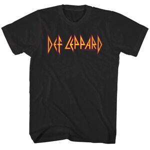 0a45c18a05933 Details about Def Leppard Rock Logo Men s T Shirt Metal Band Album Concert  Tour Music Merch