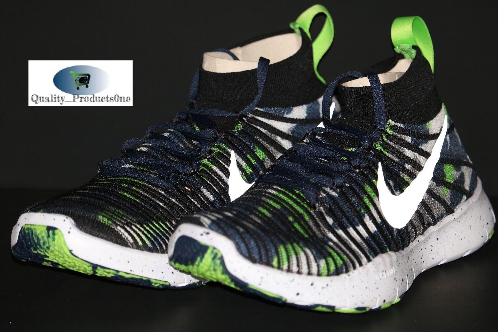 Nike libera treno vigore flyknit amp dangeruss dangeruss amp wilson seahawks 840299 400 sz 9,5 6d28c3