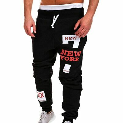 Pantalones Largos De Chándal Para Hombres Moda Casuales ...
