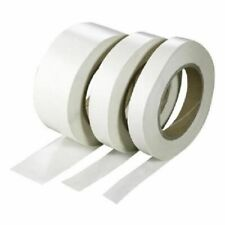 Clear Double Sided Sellotape Strong 50m Tape Roll Permanent Self Adhesive Craft