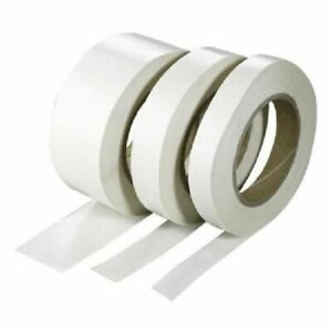 Double Side Tape Clear Sellotape Strong Permanent Rolls Craft Self Adhesive DIY