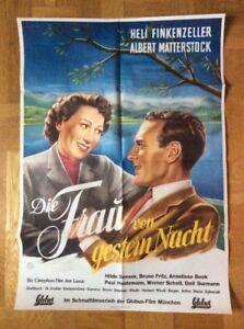 Frau-von-gestern-Nacht-Kinoplakat-039-50-Heli-Finkenzeller-Albert-Matterstock