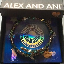 Alex and Ani Metallic Hazel Glimmer Wrap 2018 Vintage Sixty-six Collection