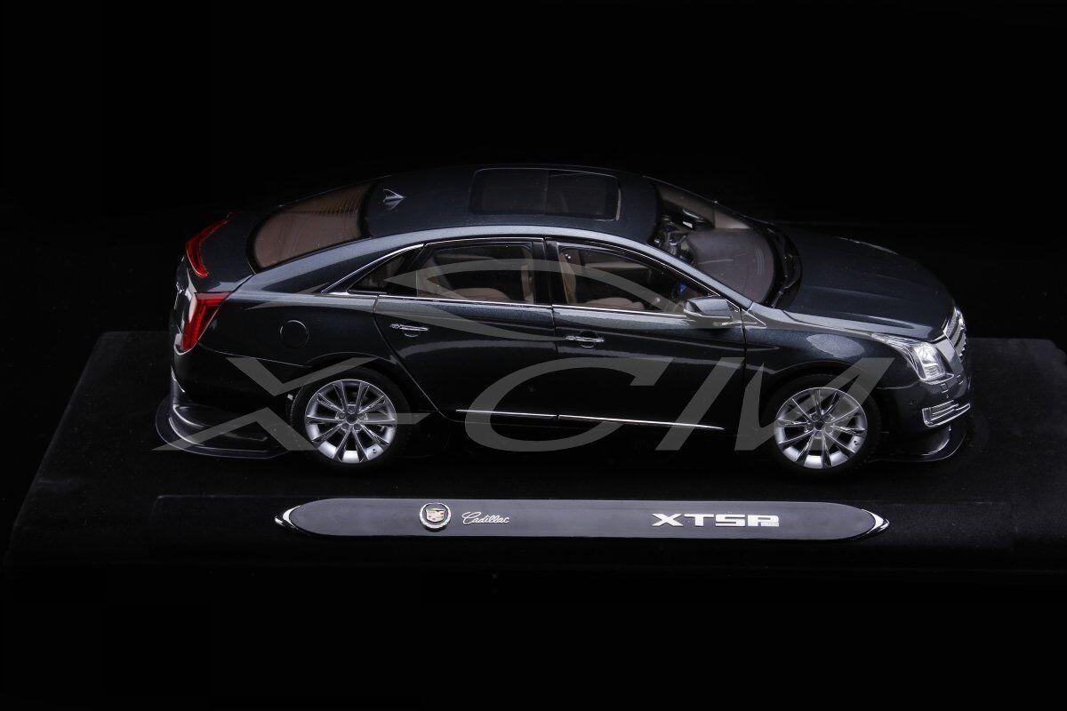Diecast Car Model Cadillac XTS 2014 1 18 (Grey) + GIFT