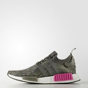 20cf2e9a1ac Adidas NMD R1 size 14. Camo Pink Olive Green Grey. Primeknit. BZ0222 ...