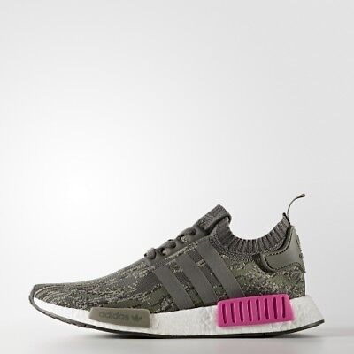 Adidas NMD R1 size 14. Camo Pink Olive