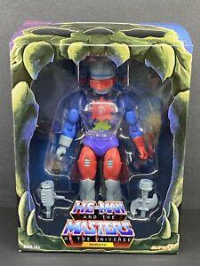 MOTU CLASSICS MASTERS OF THE UNIVERSE SUPER7 FILMATION WAVE 4 ROBOTO FIGURE NEW