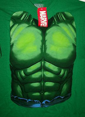 Marvel Comics Classic Incredible Hulk Chest Comics T-Shirt New LG Tag Mad Engine