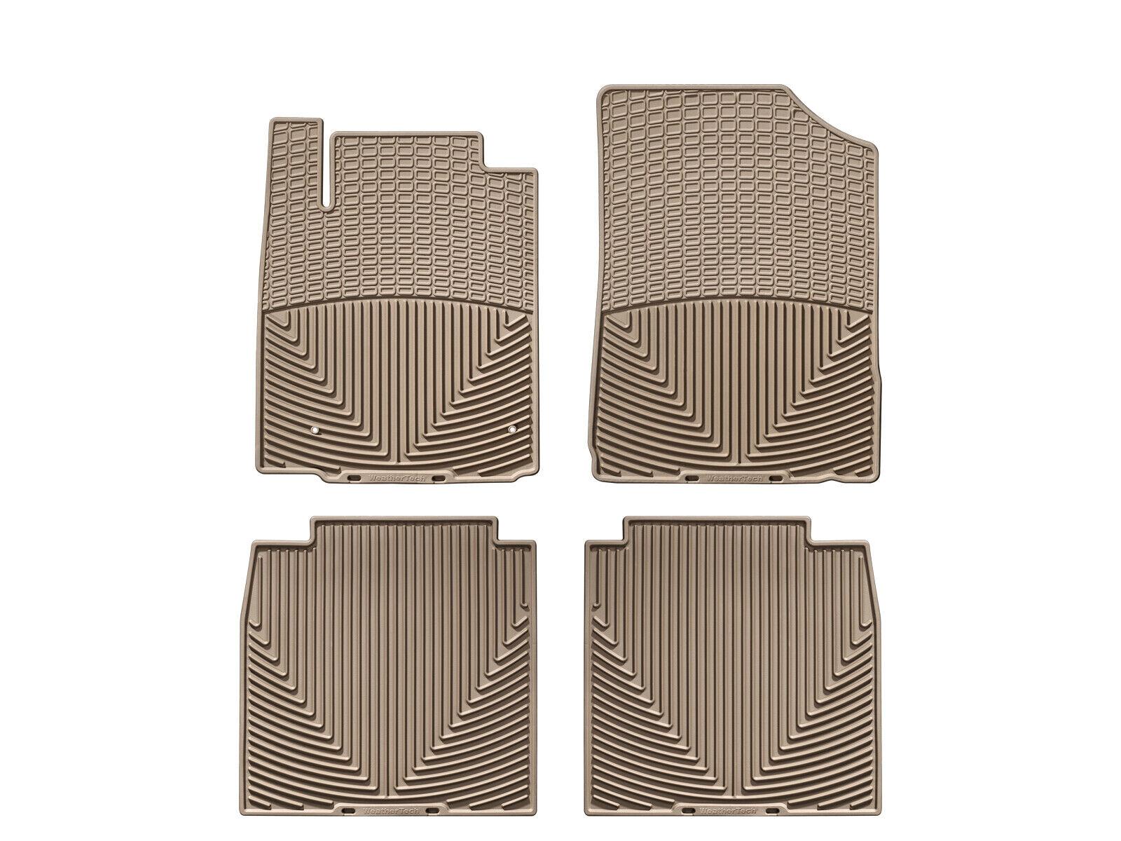 Rubber WeatherTech WTCT071085 Floor Mat Front//Rear