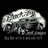 Rat Rod T Shirt Retro Hot Rod Hell Raiser Mens Black Small to 6XL and Tall sizes