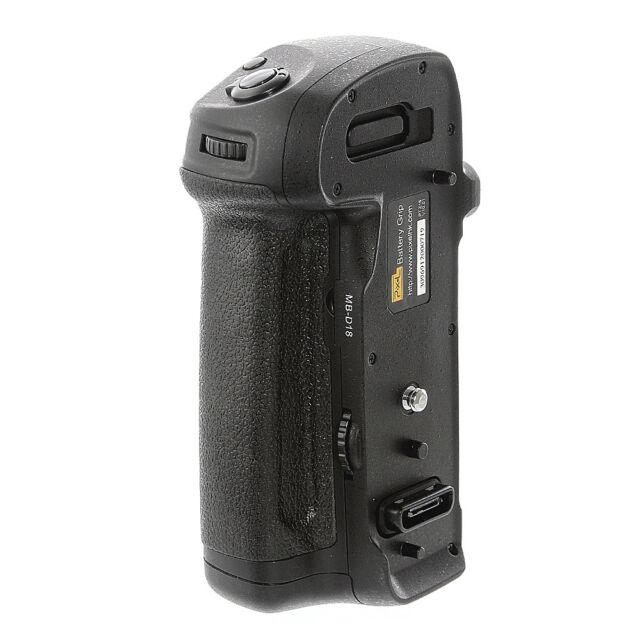 Multi-Power Battery Grip Vertical Shot for Nikon D850 DSLR Camera EN-EL15 MB-D18